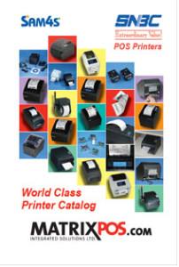 POS Printer Catalog Cover